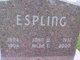 Hilda Louise <I>Hedstrom</I> Espling
