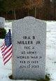 """Ira B. """"Buck"""" Miller Jr."""