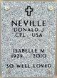 Isabelle M Neville