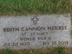 Profile photo:  Edith Cannon Herbst