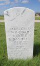 "Marjorie Winifred ""Winnie"" <I>Byford</I> Daniels"