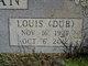 "Louis Warren ""Dub"" Calavan"