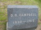 Profile photo:  D. R. Campbell