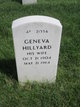 Profile photo:  Geneva Hillyard