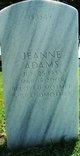 Jeanne <I>King</I> Adams