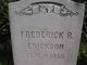 Frederick R Erickson