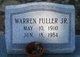 Profile photo:  Warren Fuller, Jr.