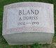 Profile photo:  A. Doriss Bland
