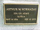 "Profile photo:  Arthur Merrell ""Art"" Hornaday"