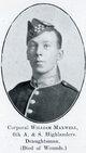 Profile photo: Lance Corporal William Maxwell