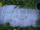 Ellen C <I>Nelson</I> Anderson