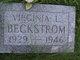 Virginia L Beckstrom