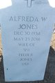 Profile photo:  Alfreda W Jones