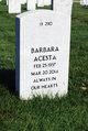 Profile photo:  Barbara Elizabeth Acesta
