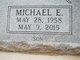 Profile photo:  Michael Eugene Miller