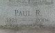 Paul R Bashore