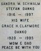 Profile photo:  Grace H <I>Claymore</I> Danko