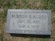 Profile photo:  Burton B. Acors