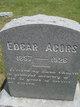Profile photo:  Edgar Acors