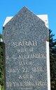 "Profile photo:  Sarah ""Sally"" Alexander"