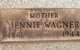 "Anne Jane ""Jennie"" <I>McQuade</I> Wagner"