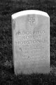 Profile photo:  Adolphus Robert Houston, JR