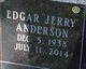 "Profile photo:  Edgar ""Jerry"" Anderson"