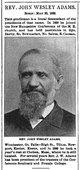 Profile photo: Rev John Wesley Adams