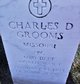Profile photo:  Charles D Grooms