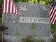 Jean E. <I>Bentley</I> Alexander
