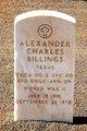 Profile photo:  Alexander Charles Billings
