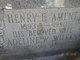 Henry E. Ament