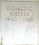 Profile photo:  Donald Gene Kieffer