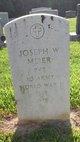 Joseph W Meier