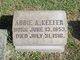 Profile photo:  Abbie A Keefer