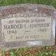 Harold Lawrence Johnson