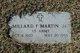 Profile photo:  Millard Franklin. Martin, Jr