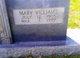 Mary <I>Williams</I> Yarbrough