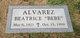 """Profile photo:  Beatrice """"Bebe"""" Alvarez"""