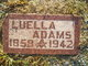 Profile photo:  Luella <I>Bassett</I> Adams