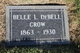 Profile photo:  Belle Lovine <I>Freeman</I> Crow DeBell