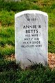 Profile photo:  Annie B Betts
