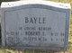 """Joseph William """"Joe"""" Bayle, Sr"""