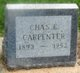 Profile photo:  Chas E. Carpenter