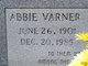 Profile photo:  Abbie/Abby <I>Varner</I> Hill