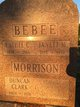 Janett Maude <I>Lane</I> Bebee