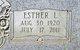 Esther Louise <I>King</I> Bassing