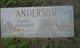 Clara Ethel <I>Price</I> Anderson