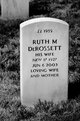 Ruth M. <I>Jones</I> DeRossett
