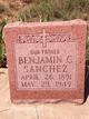 Benjamin C. Sanchez